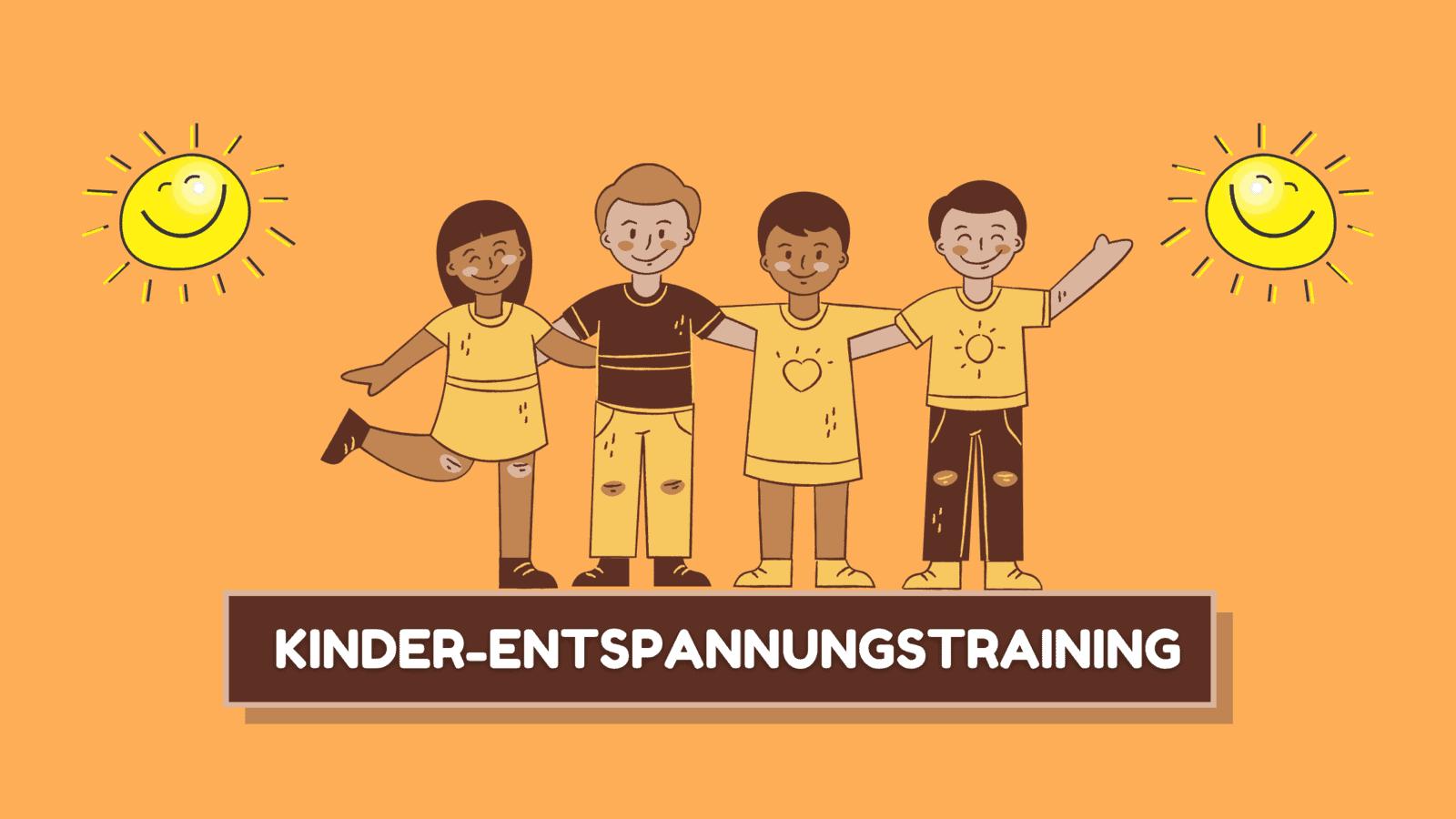 Entspannungstraining für Kinder von 4-6 Jahren in Saarbrücken Saarland